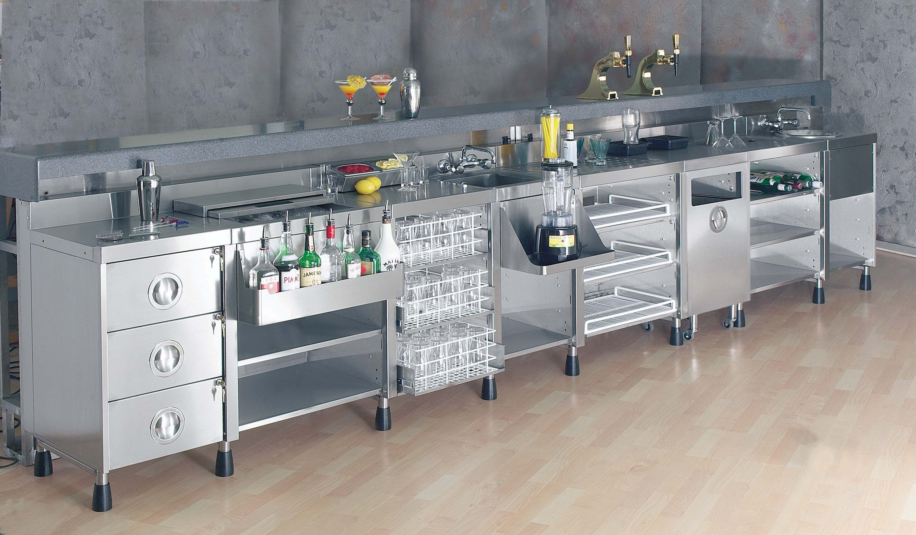 Backbar Bar System « CED Fabrication