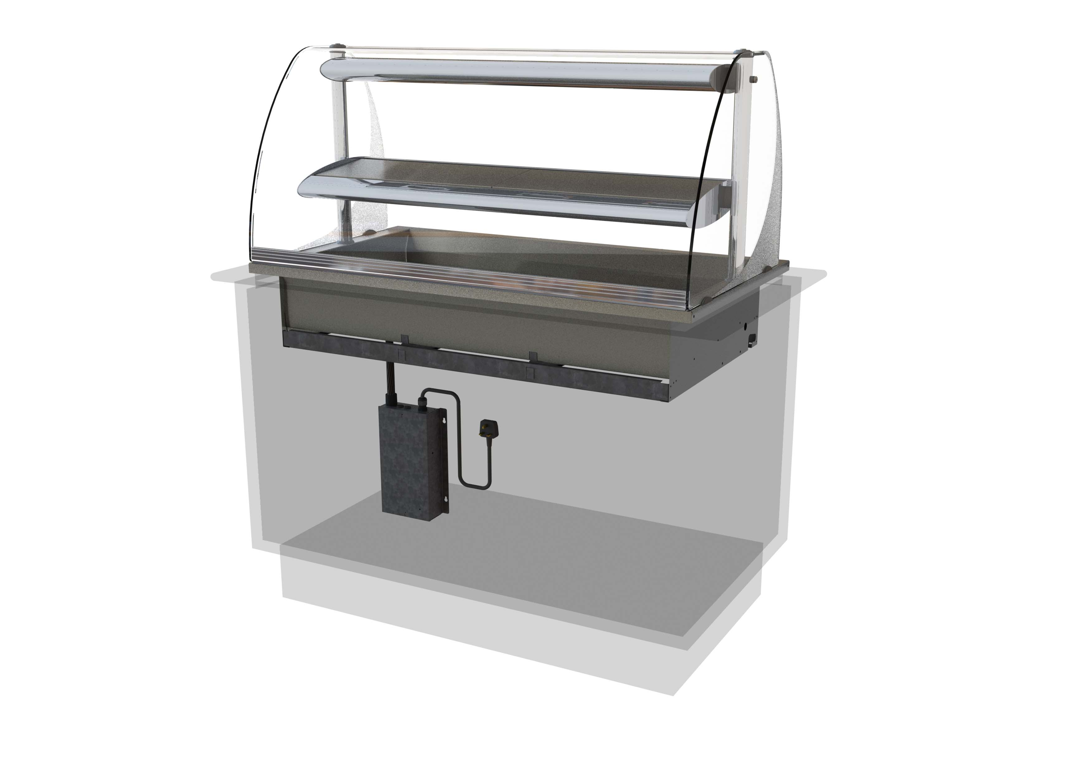 Designline Asssisted Service Heated Deli (HDL2-5)