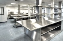 Production Kitchen Prep  -  Bespoke Prep Stations for Raw Preparation Area