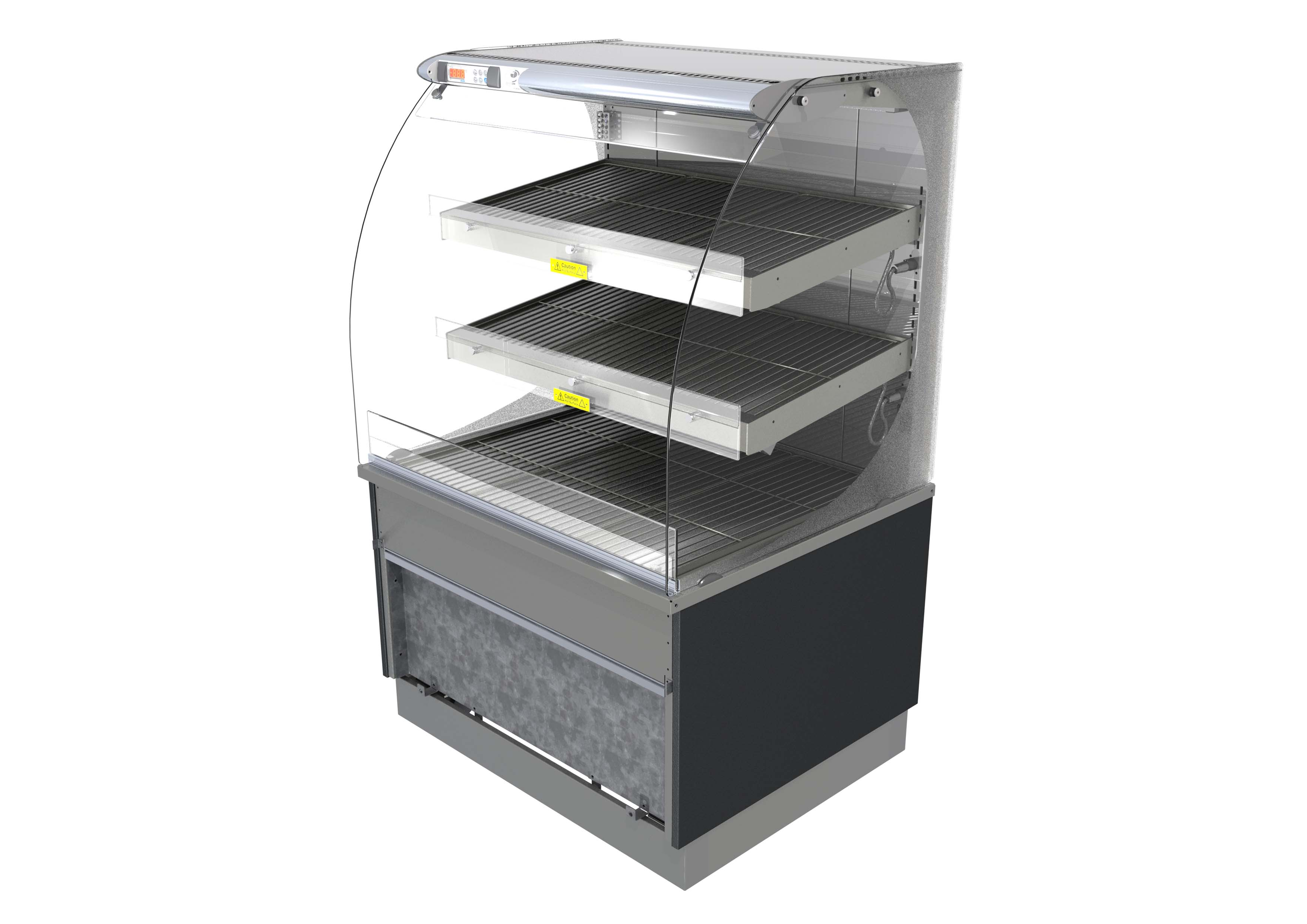Designline Self Help Heated Patisserie (Fixed Back) (PH6,9,12FB)