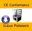 CE Conformance - Kubus Patisserie Displays
